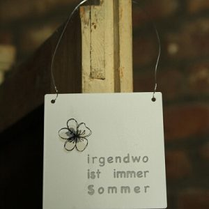 Sommer Anhänger Landhausscheune