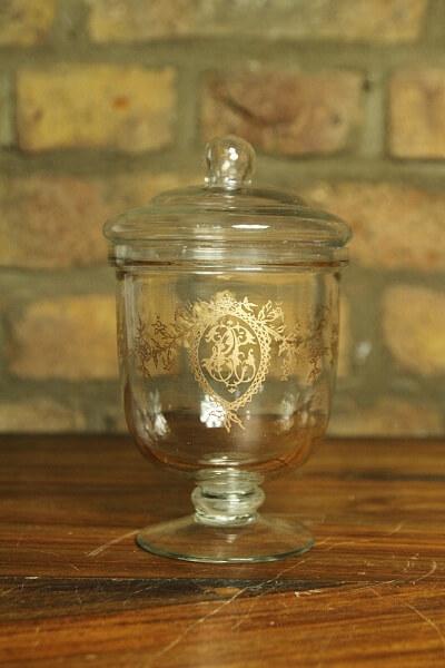 Bonboniere Glas Landhausstil Baroque