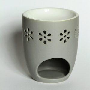 Bolsius Duftlampe Blüten grau