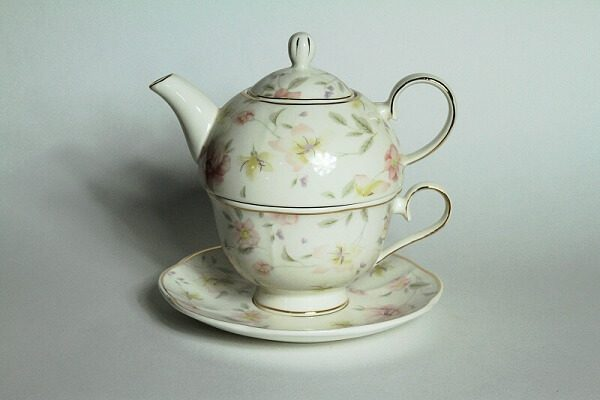 Teekanne, Tea for one, Clayre & Eef, Landhauscheune