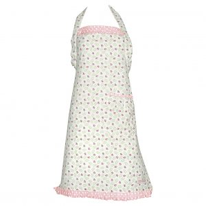 Greengate Apron Lily petit white with frill