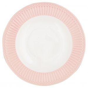 Greengate Deep Plate Alice pale pinkk