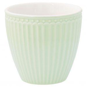 Greengate Latte Cup Alice pale green