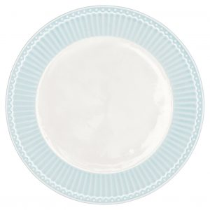 Greengate Plate small Alice pale blue teller