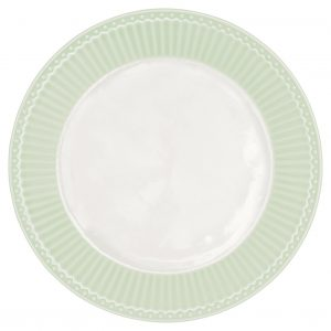 Greengate small Plate Alice pale green Teller